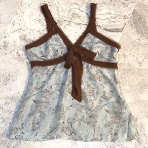 BCBGMAXAZRIA Sleeveless Silk Blouse✨